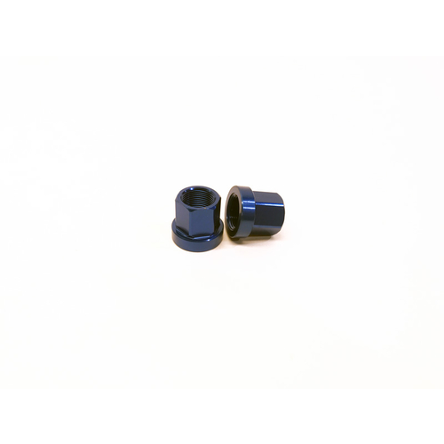 Macneil 14mm Axle Nuts (Pair), Blue *Sale Item*