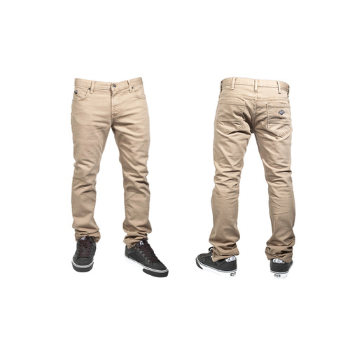 "Shadow Vultus Skinny Vintage Jeans, 30"" Khaki *Sale Item*"