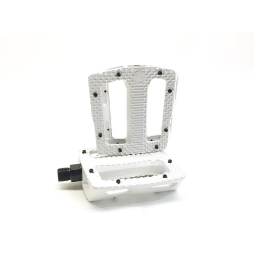 Shadow Nostra Sealed Pedals, White *Sale Item*