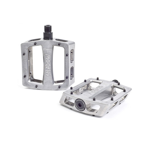 Shadow Ravager Alloy Pedals Sealed, Raw/Polished