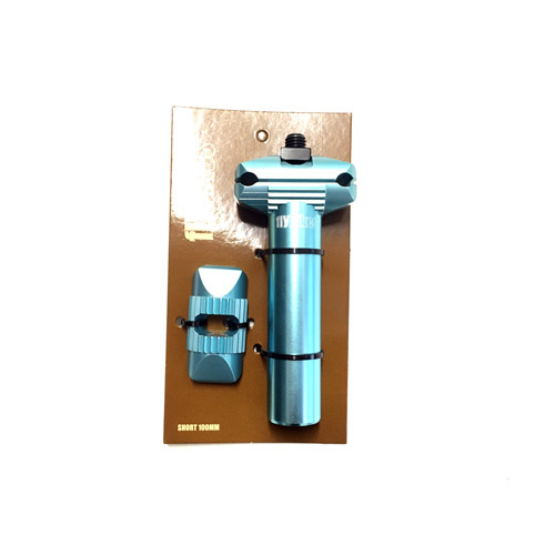 Fly Short Micro Adjust Seat Post, Turquoise *Sale Item*