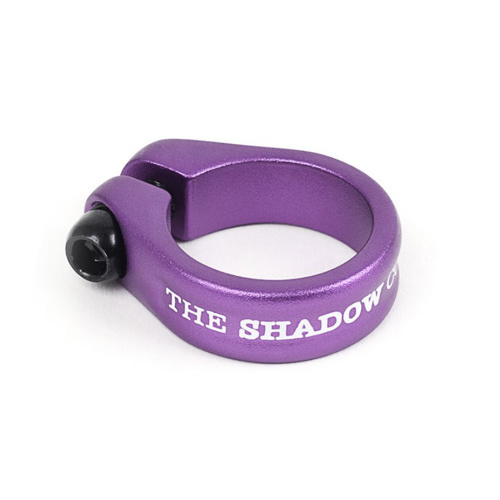 Shadow Alfred Seat Clamp, Purple