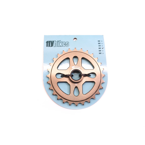 Fly Spacer Sprocket, 28T Coffee *Sale Item*