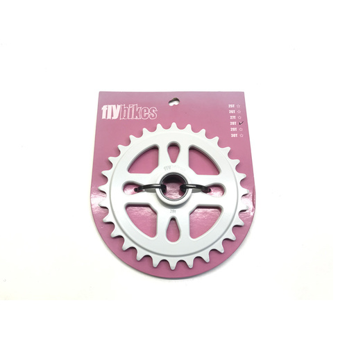 Fly Spacer Sprocket, 28T White *Sale Item*