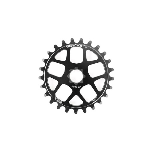 Tree Light Spline Drive Sprocket, 25T Black