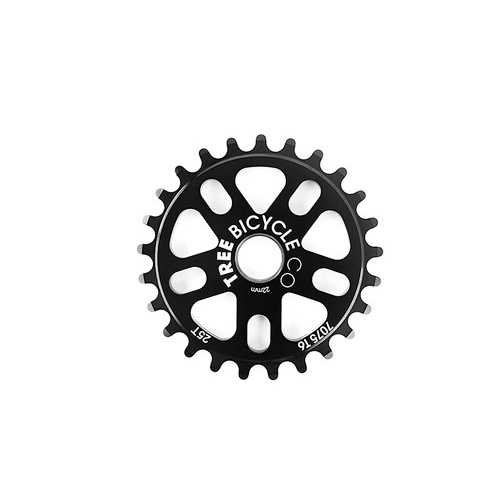 Tree Original Bolt Drive Sprocket, 28T Black