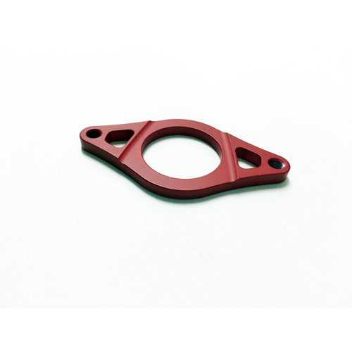 Tempered Gyro Plate Red