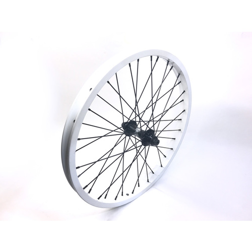 Shadow SPW Complete Front Wheel, White