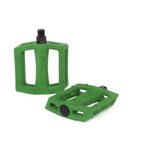 Shadow Ravager Plastic Pedals, Kelly Green