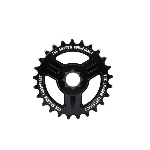 Shadow Motus 22mm Spline Drive Sprocket, 25T Black
