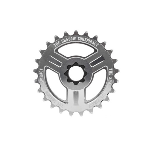 Shadow Motus 22mm Spline Drive Sprocket, 25T Polished