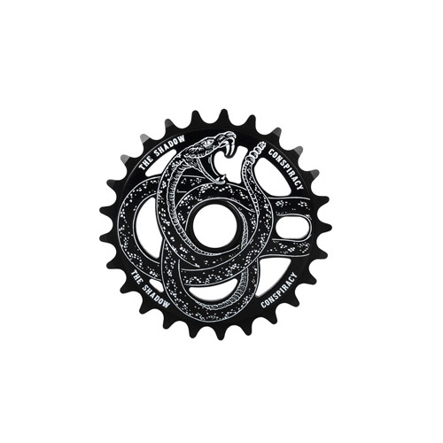 Shadow Serpent Sprocket, 28T Black