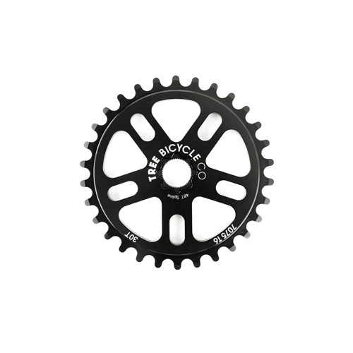 Tree Original Spline Drive Sprocket, 25T Black