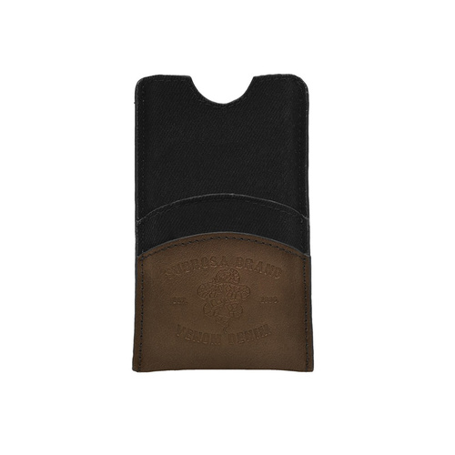 Subrosa Venom Denim Iphone Cover/Wallet Brown. Only Fits Iphone Pre 5 *Sale Item*