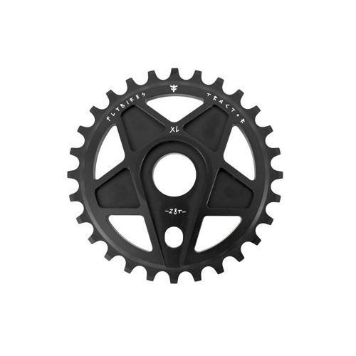 Fly Tractor XL Sprocket, 28T Flat Black