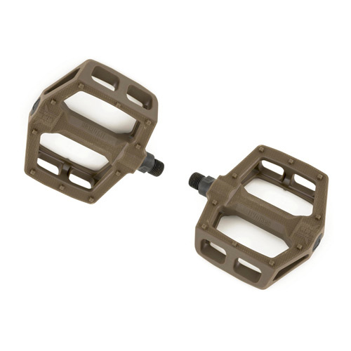 Fly Ruben Graphite Pedals, Brown *Sale Item*