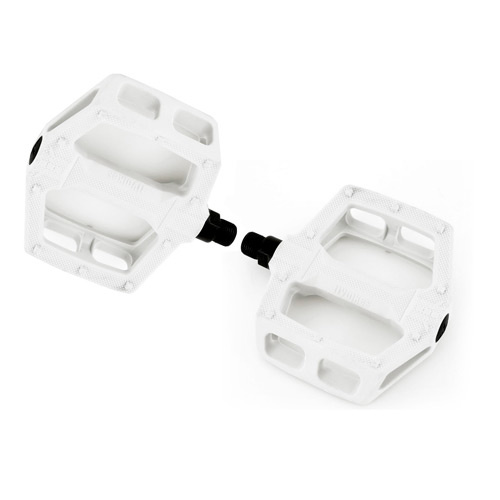 Fly Ruben Graphite Pedals, White *Sale Item*