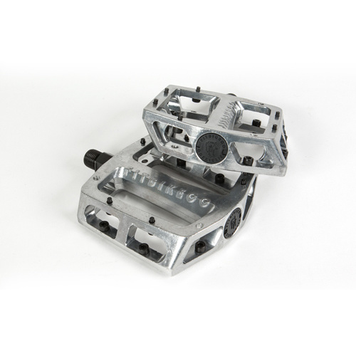 Fit Bike Co. Mac Alloy Loose Bearing Pedals, Silver
