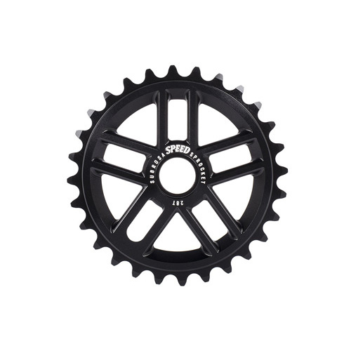 Subrosa Speed Sprocket, Gloss Black 25T