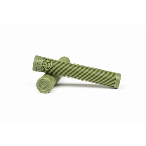 BSD Passenger Flangeless Grips, Surplus Green