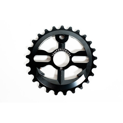 Tempered Anchor Down V2 Sprocket, 28T Ed Black