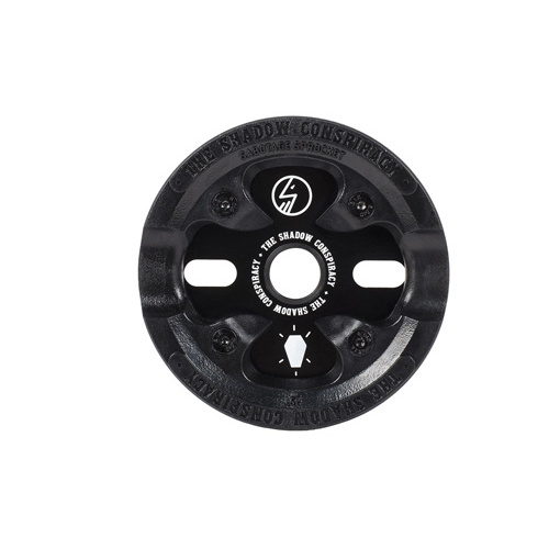 Shadow Sabotage Sprocket/Guard Combo, 25T Black