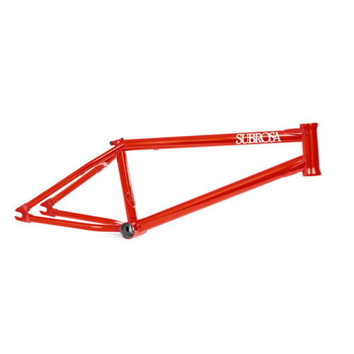 "Subrosa Code Frame 21"", Satin Red"