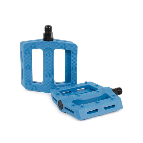 Shadow Surface Plastic Pedals, Polar Pop Blue