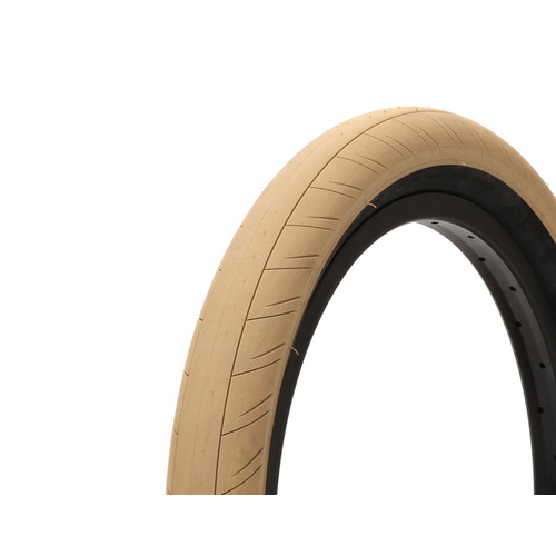"Primo Stevie Churchill Tyre. 20"" x 2.45"", Tan W/Black Walls"