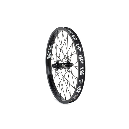 Rant Party On V2 Sealed Front Wheel, Black