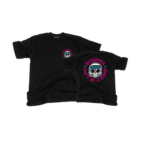 Subrosa Radical Rick Tee, Black X/Large