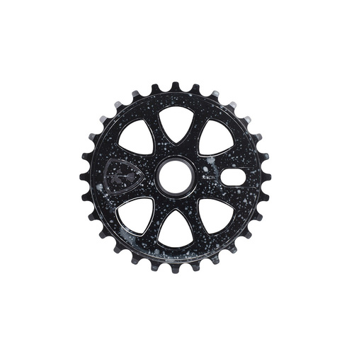 Subrosa Petal Sprocket, 28t Cosmic Black