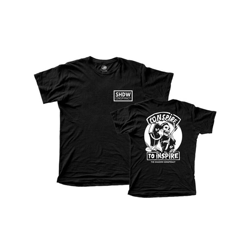 Shadow Conspire Tee, Black X/Large
