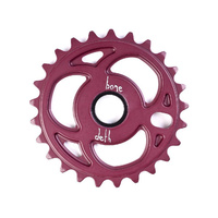 Bone Deth Speedfreak Sprocket, 25T Matte Purple