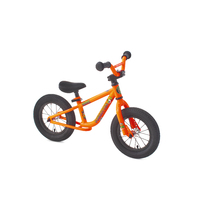 Forgotten Rascal Balance Bike, Gloss Neon Orange - Aftermath