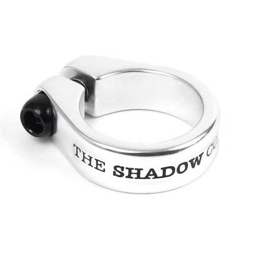 Shadow Alfred Seat Clamp, Polished