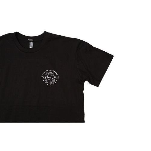 Fast And Loose X Endless Black  S/S Tee Medium
